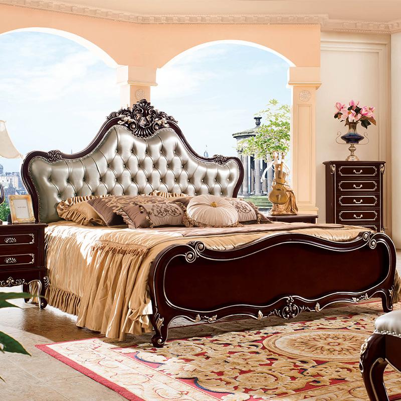 新古典床1801