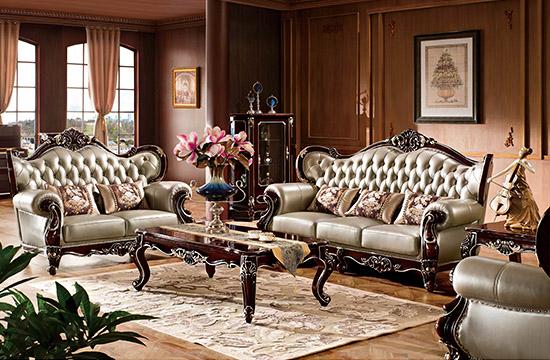 乐从家具城宫爵家具展辰,家具的专属搭配高性价比实木家具图片