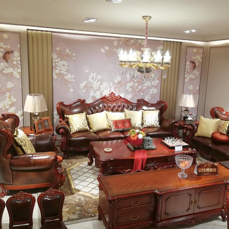 欧式沙发8956
