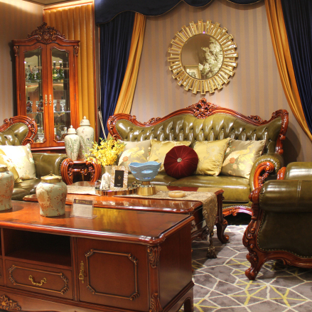 欧式家具沙发8939-1