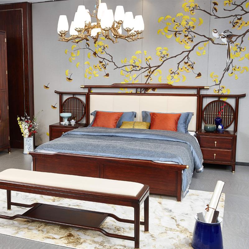 新中式家具TM9901床