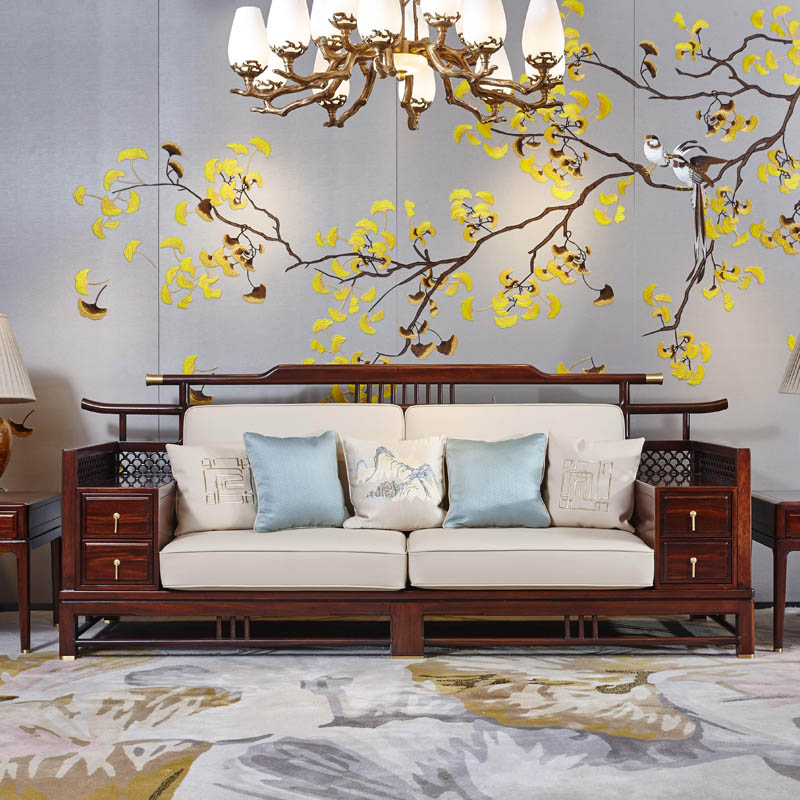 新中式家具TM9901沙发