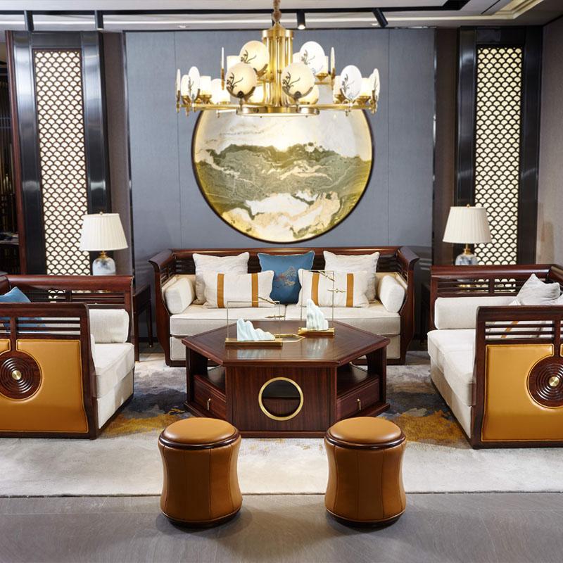 新中式家具TM9902沙发