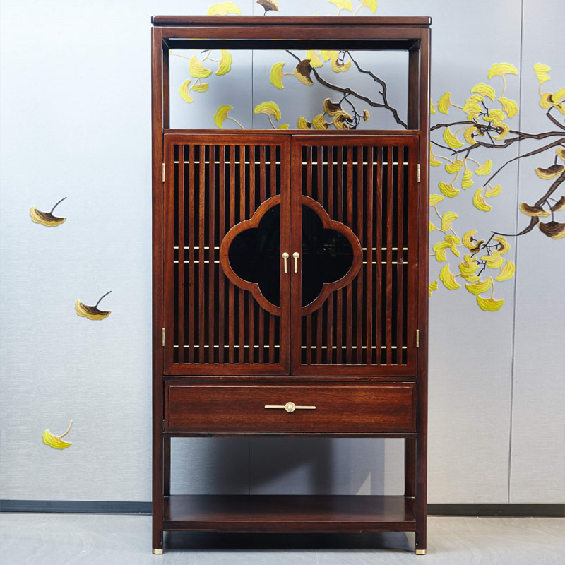 新中式家具TM9902双门酒柜