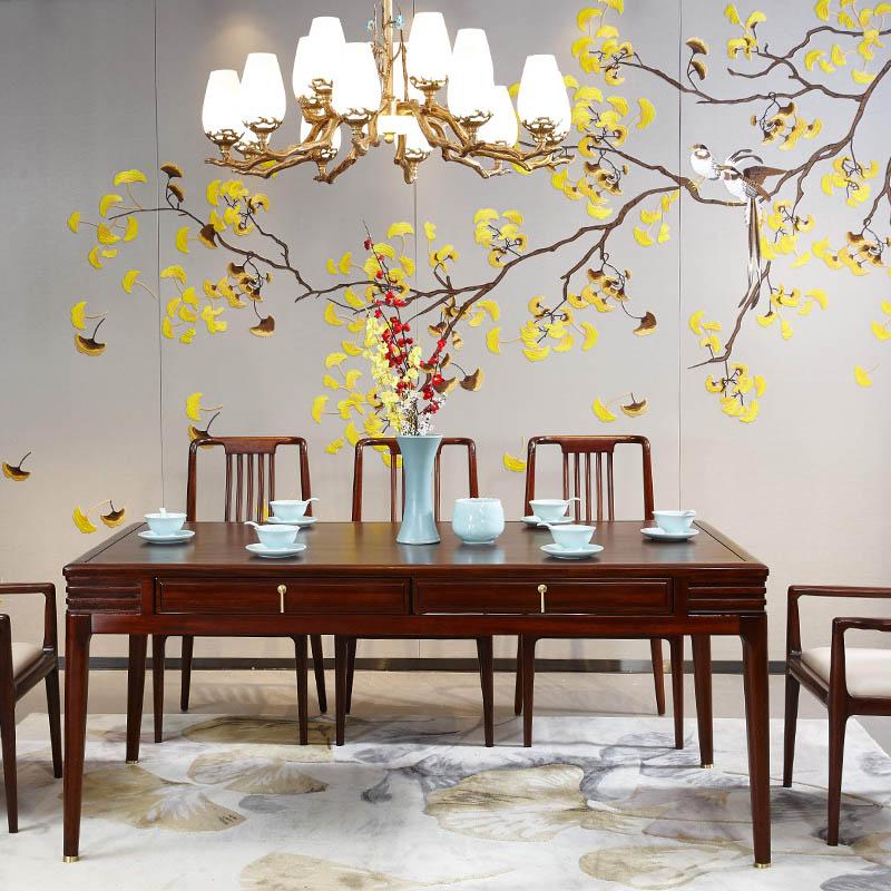 新中式家具TM9903餐桌