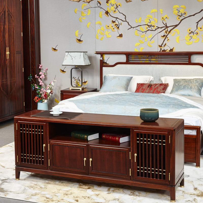 新中式家具TM9905电视柜