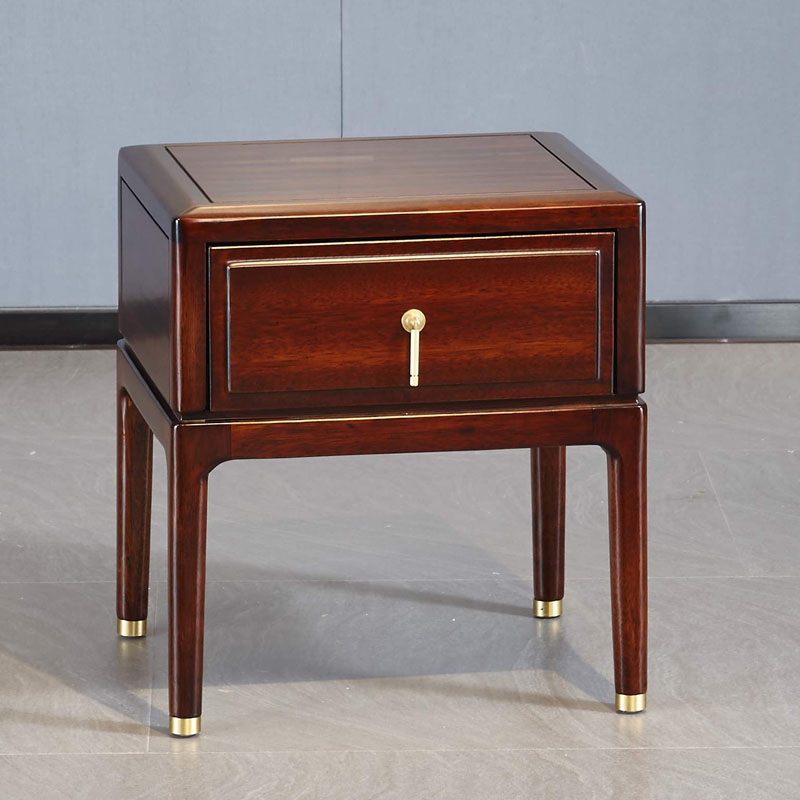 新中式家具TM9907床头柜